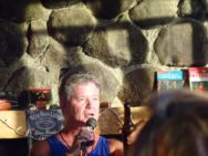 CJ McCarroll comedian at Rock River Lodge Costa Rica