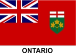 Ontario Flag