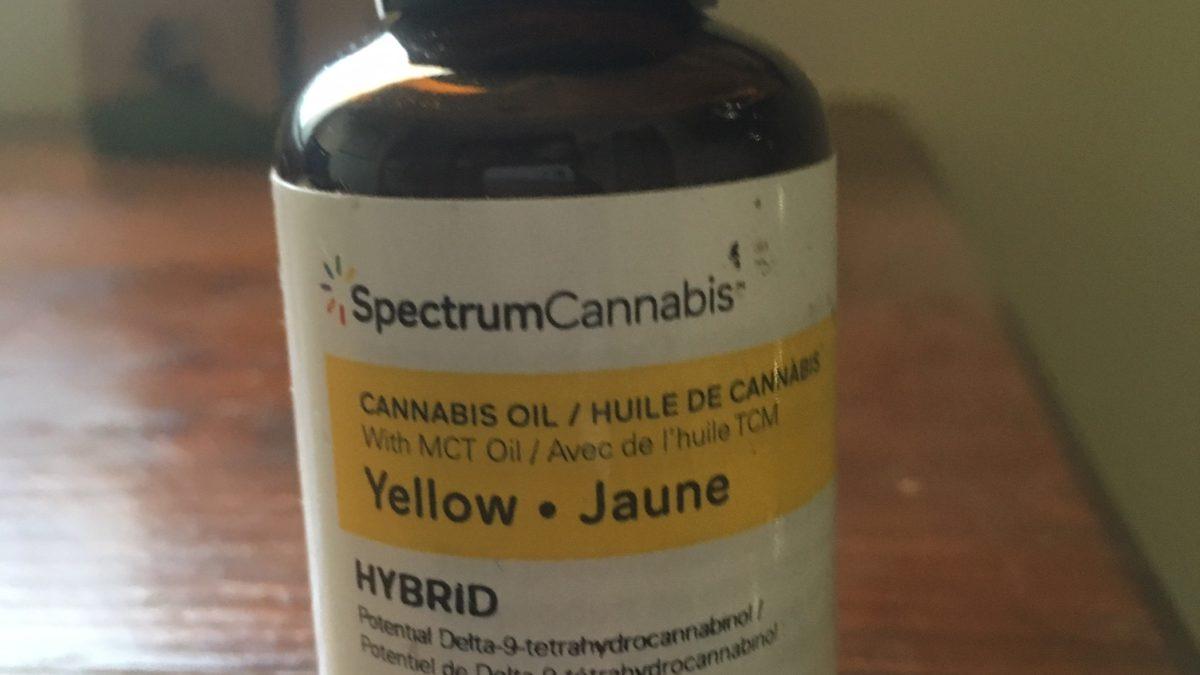 Yellow Spectrum CBD Oil