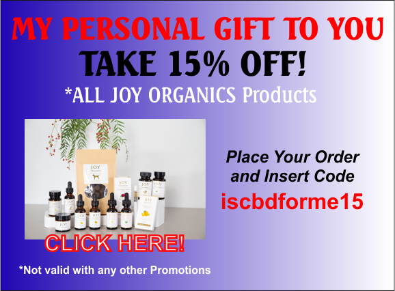 15% OFF COUPON JOY ORGANICS