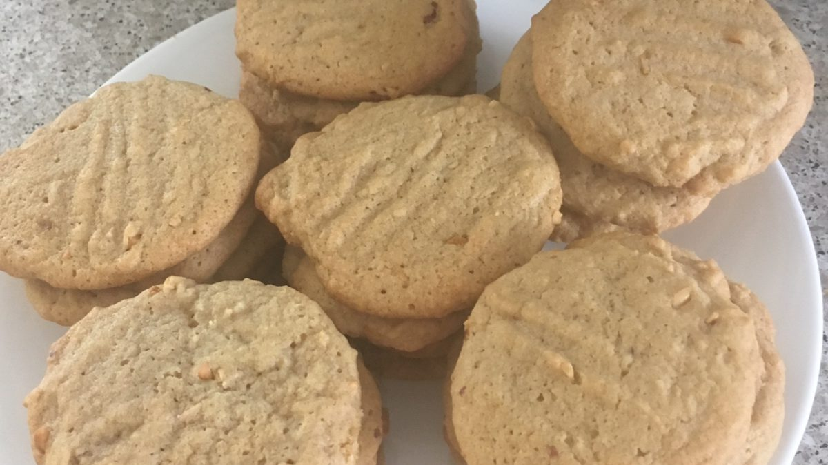 yummy weed peanut butter cookies