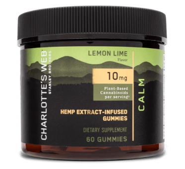 Charlotte's Web lemon Lime Gummies