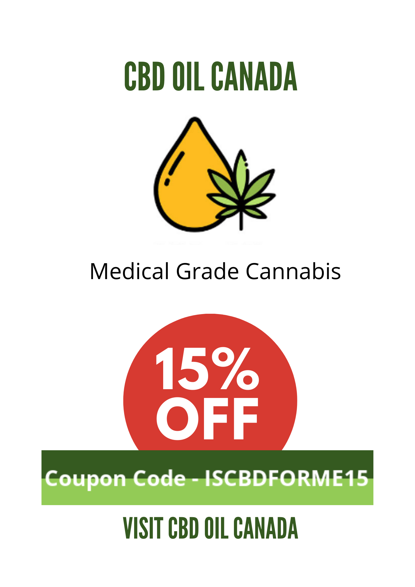 CBD OIL CANADA COUPON