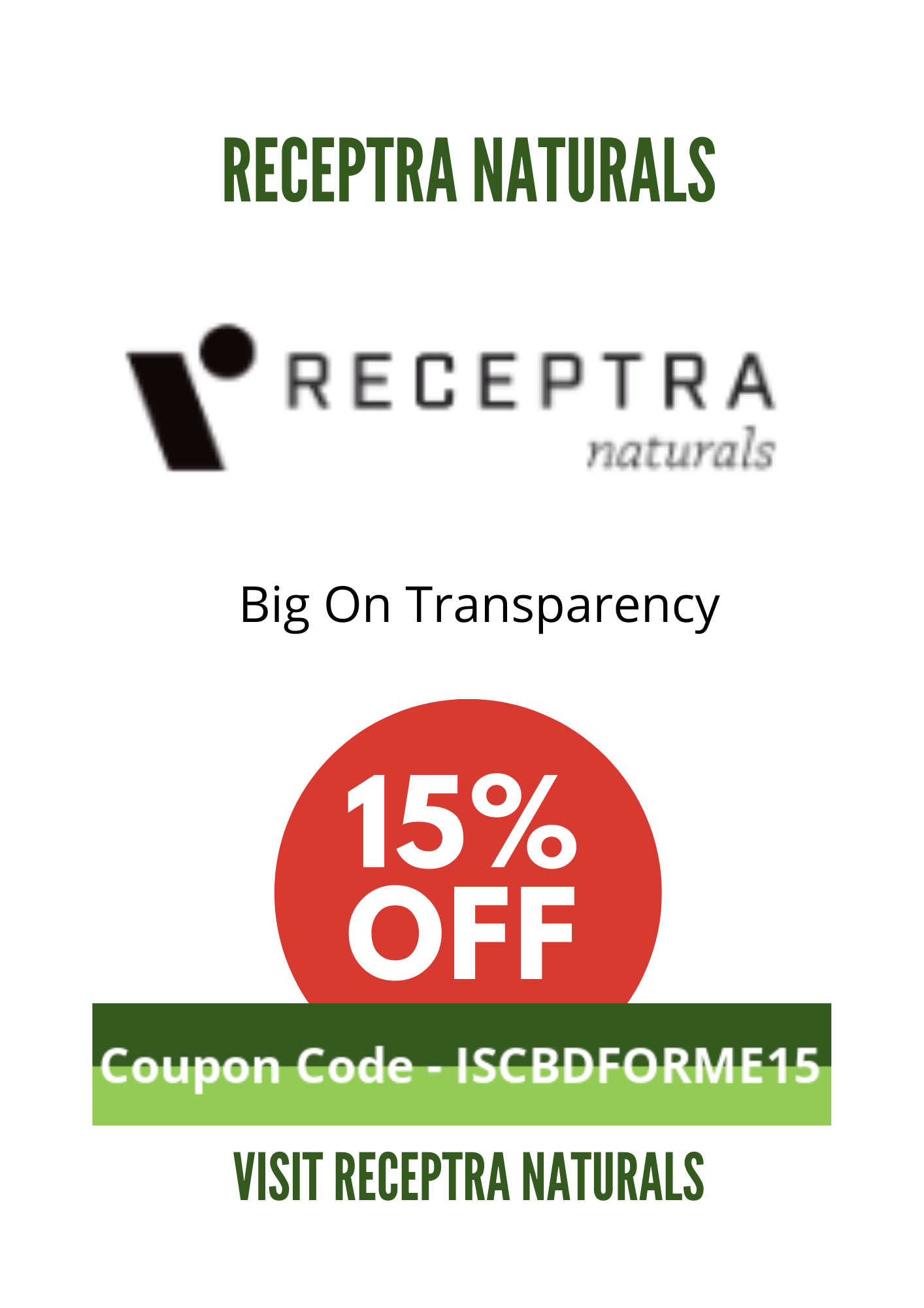 RECEPTRA COUPON