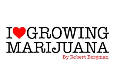 I love growing marijujana logo